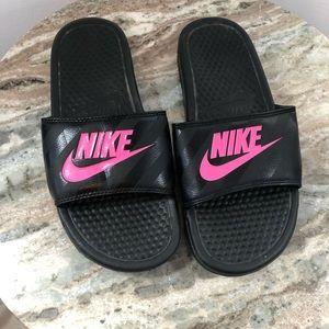 Nike Slides size 8 women's